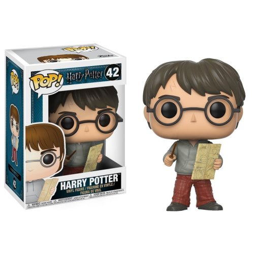 Funko Harry Potter Pop! Vinyl Figure - Harry with Marauders Map