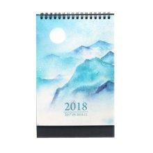 Creative Chinese Wind 2018 Retro Desk Calendar / Office Calendar,Moon Style