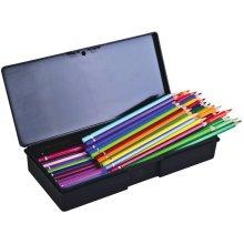 "ArtBin Sketch Series Pencil Box-10.375""X4.5""X1.75"" Black"