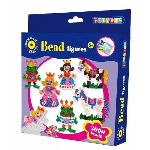 Pbx2456227 - Playbox - Beads Set - Princess - 2000 Pcs