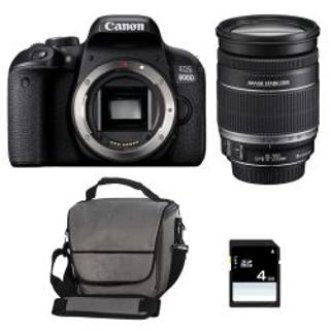 CANON EOS 800D + EF-S 18-200mm F3.5-5.6 IS  + Canon Bag+8gb SD card