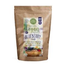 Natural Vegan Protein - Blueberry - 78% Protein, Organic Ingr. 500g