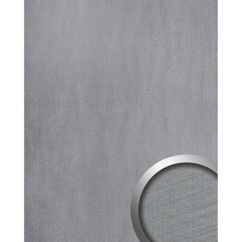 WallFace 20193 METALLIC USED Silver AR Design panelling metal look silver 2.6 m2
