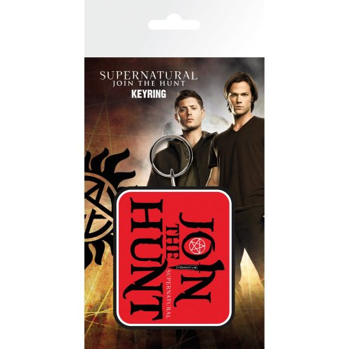 Supernatural Join the Hunt Keyring