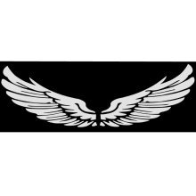 Wing Car Body Sticker Angel Wings Personality Reflective Car Stickers Decorative