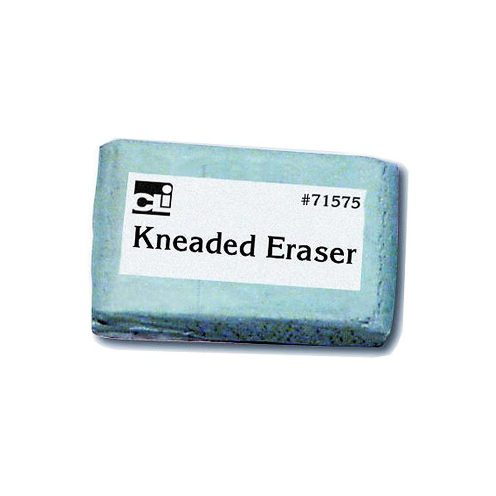 Medium Kneaded Charles Leonard Art Eraser for Pastels Charcoals and Chalks