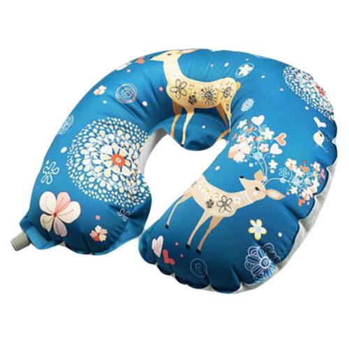 Deer Neck Pillow Inflatable Body Pillow U-shaped Travel Pillow