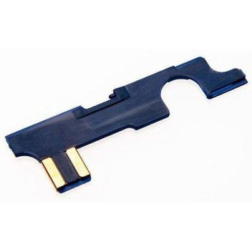 Airsoft M4 M16 V2 Selector Plate Aeg Asg Anti Heat Lonex High Quality