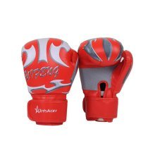 Durable Cool Adult Boxing Gloves Training Gloves RED, Free Size