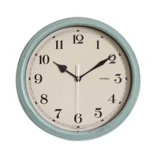 [T] 11 Inch Modern Wall Clock Decorative Silent Non-Ticking Wall Clock