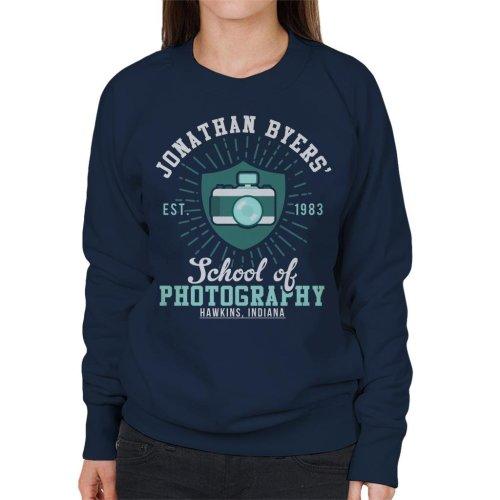 Stranger Things Jonathan Byers School Of Photography Women's Sweatshirt