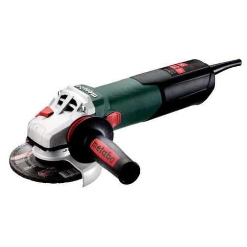 """Metabo W12-125 Quick 110V, 1250W 5"""" Angle Grinder"""