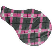 JHL Tartan Fleece Saddle Cover