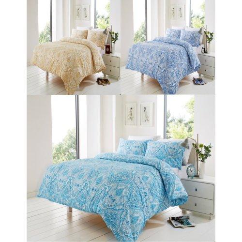 Bali Floral Modern Duvet Cover Bedding Set All Sizes
