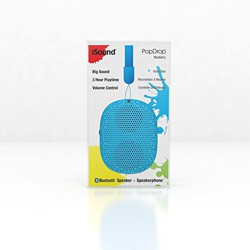 iSound PopDrop Wireless Speaker Blueberry