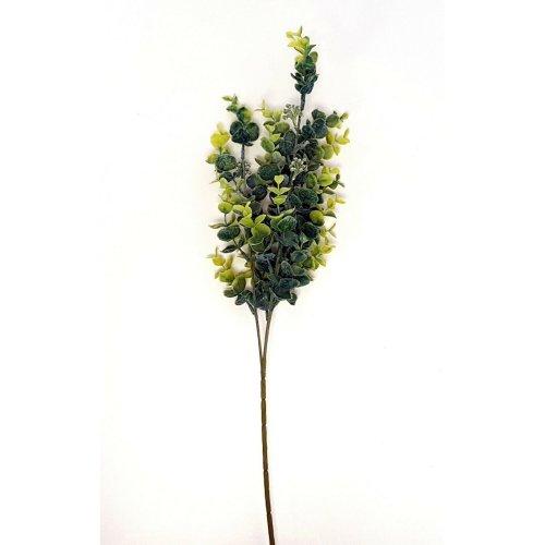 Artificial Green Seeded Eucalyptus Spray - 68cm - Decorative Plant Stem Foliage