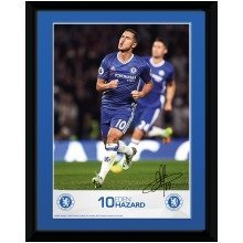 Chelsea Hazard 16/17 Collector Print