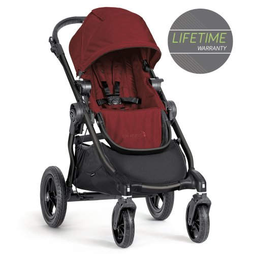 Baby Jogger City Select Single Stroller Garnet