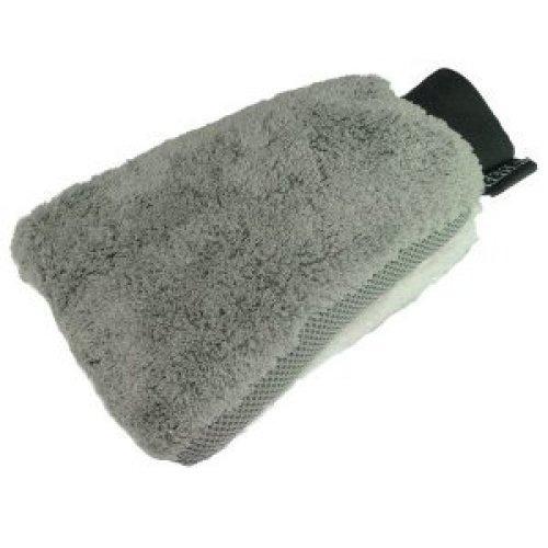 Silverline Microfibre Wash Mitt 270 x 170mm - 380574 Car -  wash microfibre mitt silverline x 270 170mm 380574 car