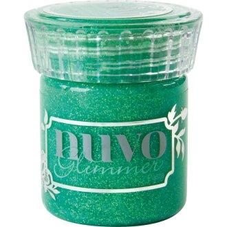 Nuvo Glimmer Paste 1.6Oz-Peridot Green