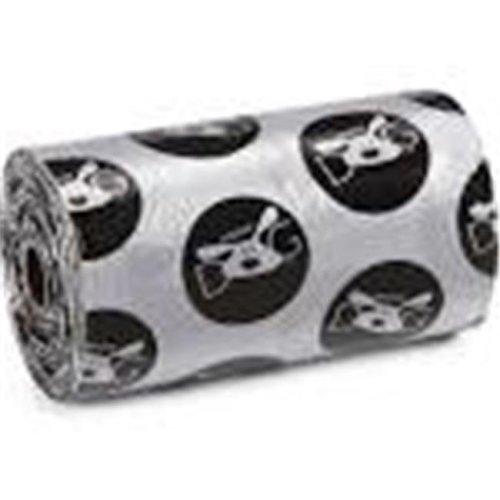 Dog Is Good DI5133 08 17 Halo Waste Bag 8Pk Blk