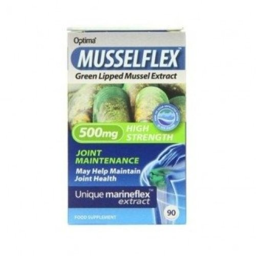 Musselflex - Organic Green Lipped Mussel & Glucosamine Tablets