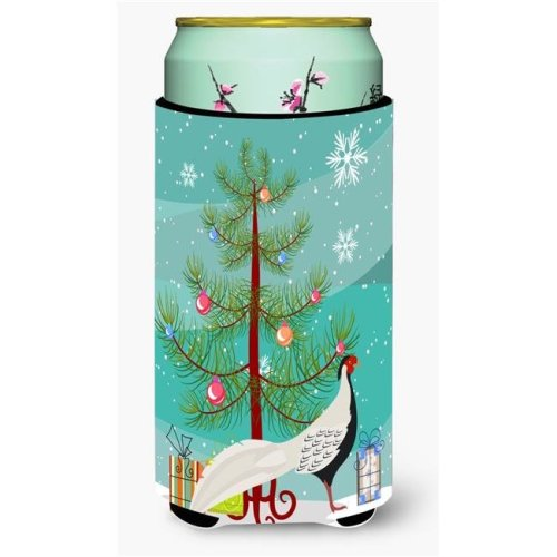 Carolines Treasures BB9296TBC Silver Pheasant Christmas Tall Boys Beverage Insulator Hugger