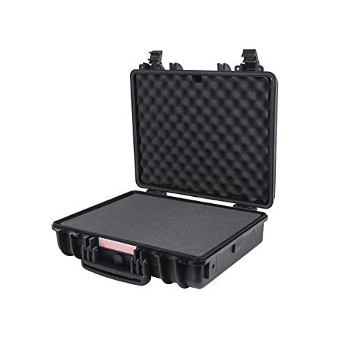 Monoprice Weatherproof Hard Case with Customizable Foam 19 x 16 x 6