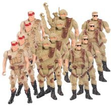 Soldier Scene Models Little Soldier Car Models Children's Toy Accessories #2