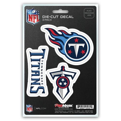 Pro Mark DST3NF30 Tennessee Titans Decal - Pack of 3