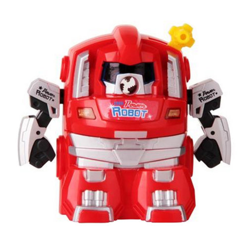 Cute Robot Manual Pencil Sharpener for Office and Classroom ( Red )
