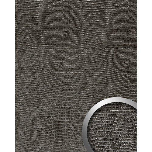 WallFace 19779 Antigrav LEGUAN Nero Wall panel leather look matt black 2,6 m2