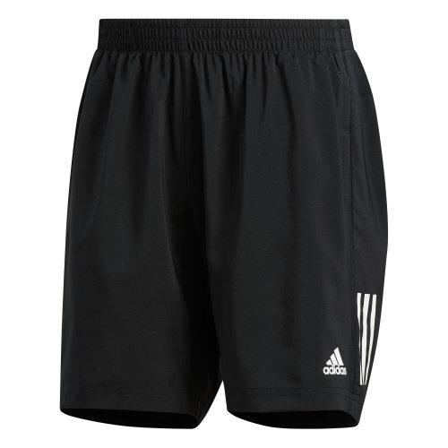 "adidas Own The Run 7"" Mens Running Fitness Training Gym Short Black"