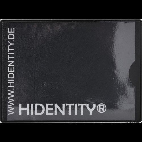 Hidentity duo RFID credit card protector wallet.