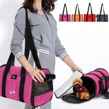 Pet Dog Puppy Cat Portable Travel Carrier Tote Cage Bag Kennel Crates Box Holder
