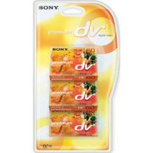 Sony CAMCORDER TAPE 3PK 60MIN