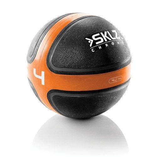 Sklz Inflatable Medicine Ball Gym Fitness Training Excercise 4lb