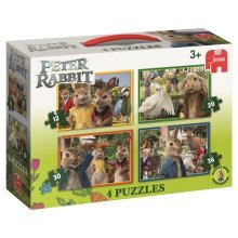 Peter Rabbit - The Movie 4 In 1 Jigsaw