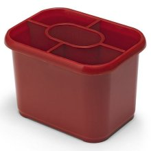 Addis Emsa Cutlery Drainer 508069 -  Red