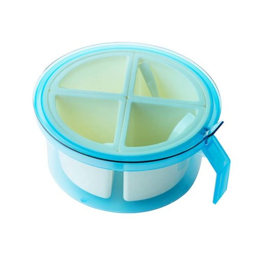 Candy Color Seasoning Box Salt Pepper Spice Box, BLUE
