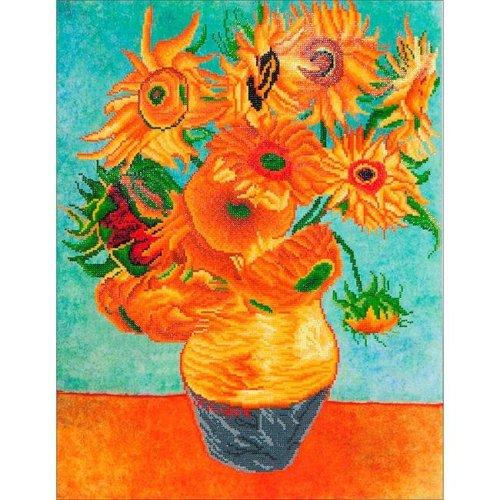 Needleart World DD13011 Diamond Dotz Diamond Embroidery Facet Art Kit - Sunflowers Van Gogh