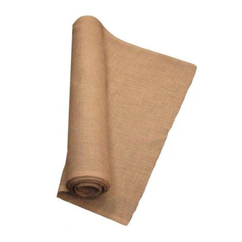 LA Linen 60IN-Burlap-40YardRoll 40 Yards Burlap Fabric, Natural - 60 in.