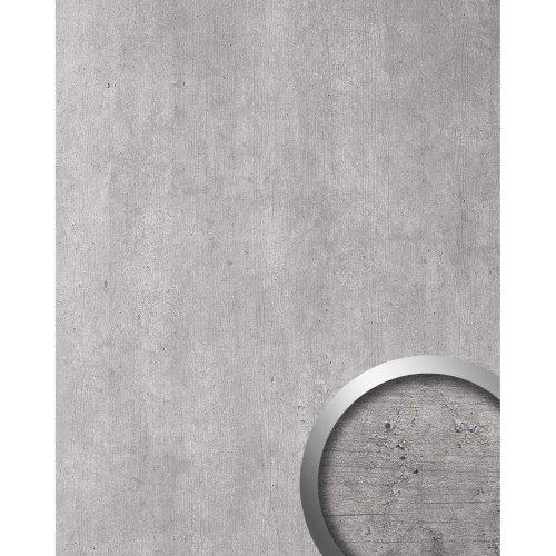 WallFace 19563 Antigrav CEMENT Light Decor panel stone look matt grey 2,6 m2