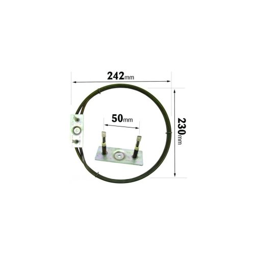 Glen Dimplex 2500 Watt Circular Fan Oven Element
