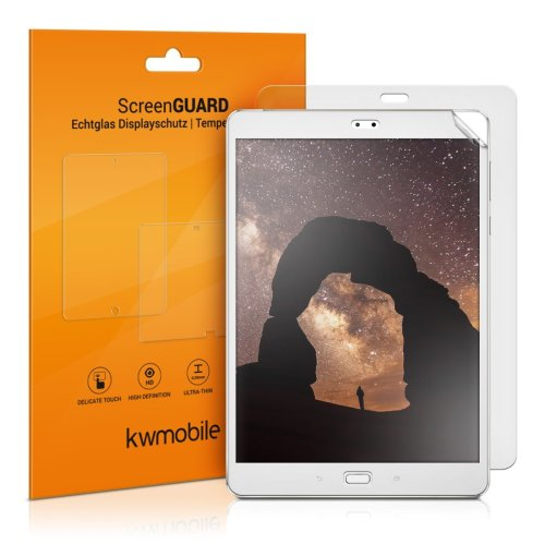 kwmobile 2x Screen Protector for Asus ZenPad 3S 10 (Z500M) - Anti-Scratch, Anti-Fingerprint, Matte Display Film for Tablet - Set of 2