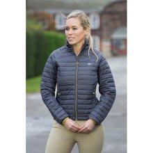 Shires Oslo Padded Jacket - Ladies: Grey: XX Large