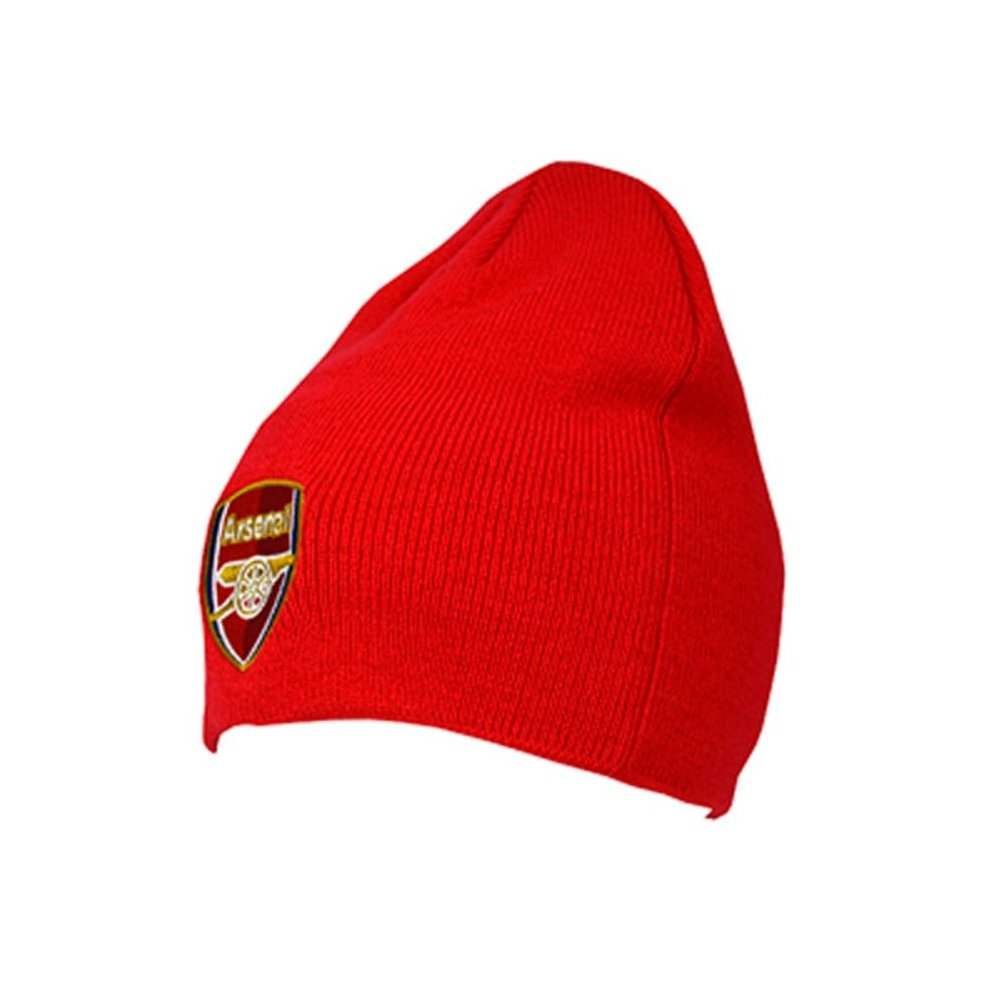 01258dee1cc Arsenal Fc Knitted Beanie Hat - Official Football Red Club Licensed Product  One - official football.
