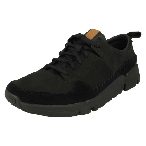 Mens Clarks Casual Trainers Tri Active Run - G Fit