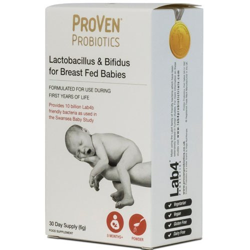 Proven  Lactobacillus & Bifidus For Breast Fed Babies 6g