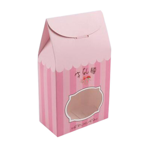 50PCS Cute Boxes WithHandle For Pack Candies,Nougat,OtherGift,in Party,Birthdays,and other Events,#8